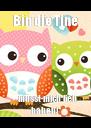 Bin die Tine - müsst mich lieb haben! - Personalised Poster A4 size