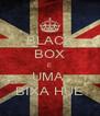 BLACK BOX E UMA  BIXA HUE - Personalised Poster A4 size