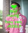 blijf  rustig  en  hou van  JEZELF - Personalised Poster A4 size