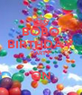BOBO BIRTHDAY PARTY  ON - Personalised Poster A4 size