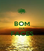 BOM DIA FACES  - Personalised Poster A4 size
