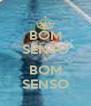 BOM SENSO & BOM SENSO - Personalised Poster A4 size