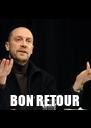 BON RETOUR - Personalised Poster A4 size