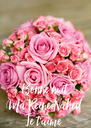 Bonne nuit  Ma Reine Nahed Je t'aime - Personalised Poster A4 size