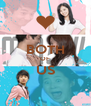 BOTH OF US  - Personalised Poster A4 size