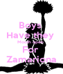 Boys  Have they  Mouth open  For  Zamariona - Personalised Poster A4 size