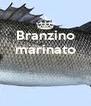 Branzino marinato    - Personalised Poster A4 size