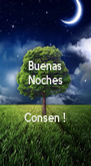 Buenas Noches   Consen ! - Personalised Poster A4 size