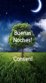 Buenas Noches!   Consen! - Personalised Poster A4 size