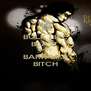 BULK LIKE BEAST DON'T BARK LIKE BITCH - Personalised Poster A4 size