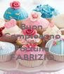 Buon Compleanno Buona Fortuna FABRIZIO - Personalised Poster A4 size