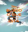 BUSCO O QUE NO ALTO ESTÁ  - Personalised Poster A4 size