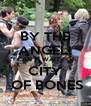 BY THE ANGEL! I CAN´T WAIT FOR CITY  OF BONES - Personalised Poster A4 size