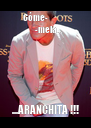 Cóme-                -mela...  ...ARANCHITA !!! - Personalised Poster A4 size