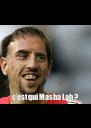 c'est qui Masha Lah ? - Personalised Poster A4 size