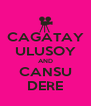 CAGATAY ULUSOY AND CANSU DERE - Personalised Poster A4 size