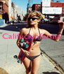 Califuckinfornia    - Personalised Poster A4 size