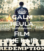 CALM HEULA NUNGGUAN FILM THE RAID - Personalised Poster A4 size