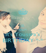 = CALM it's Youssra's BIRTHDAY *-* - Personalised Poster A4 size