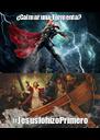 ¿Calmar una Tormenta? #JesúslohizoPrimero - Personalised Poster A4 size