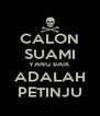 CALON SUAMI YANG BAIK  ADALAH PETINJU - Personalised Poster A4 size