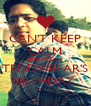CAN'T KEEP CALM COZ IT'S MY TEDDY BEAR'S BIRTHDAY  - Personalised Poster A4 size