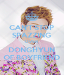CAN'T STOP SPAZZING OVER DONGHYUN OF BOYFRIEND - Personalised Poster A4 size