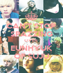 CAN'T STOP SPAZZING OVER EUNHYUK OF SUJU - Personalised Poster A4 size