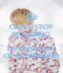 CAN'T STOP SPAZZING OVER HYUNSEONG OF BOYFRIEND - Personalised Poster A4 size