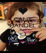 CANT HANDEL THIS <3  - Personalised Poster A4 size