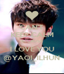 CAN'T KEEP CALM BECAUSE I LOVE YOU @YAOI_ILHUN - Personalised Poster A4 size