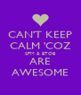 CAN'T KEEP CALM 'COZ 2PM & BTOB ARE AWESOME - Personalised Poster A4 size