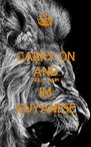 CARRY ON AND KEEP CALM IM GUYANESE - Personalised Poster A4 size