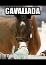 CAVALIADA Connecting animals - Personalised Poster A4 size