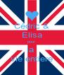 Cédric & Elisa pour la  vie entiere - Personalised Poster A4 size