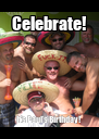 Celebrate! It's Paul's Birthday! - Personalised Poster A4 size