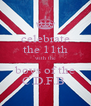 celebrate the 11th with the boys of the C.D.F.B. - Personalised Poster A4 size
