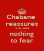 Chabane  reassures  S A Jews  nothing  to fear - Personalised Poster A4 size