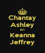 Chantay Ashley Ari Keanna Jeffrey - Personalised Poster A4 size