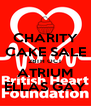 CHARITY CAKE SALE 28TH OCT ATRIUM ELLAS GAY - Personalised Poster A4 size
