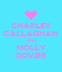 CHARLEY  CALLAGHAN  AND MOLLY GOVIER - Personalised Poster A4 size