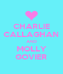 CHARLIE  CALLAGHAN  AND MOLLY GOVIER - Personalised Poster A4 size
