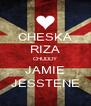CHESKA RIZA CHUDDY JAMIE JESSTENE - Personalised Poster A4 size