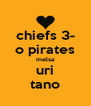 chiefs 3- o pirates melsa uri tano - Personalised Poster A4 size