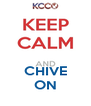 CHIVE ON - Personalised Poster A4 size