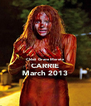 Chloë  Grace Moretz CARRIE March 2013 - Personalised Poster A4 size
