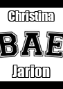 Christina Jarion - Personalised Poster A4 size