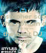christopher scott  is the no1 fan of  darren styles the best DJ ever - Personalised Poster A4 size