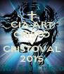CIA ART CRISTO NO CRISTOVAL 2015 - Personalised Poster A4 size