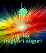 ciaooo stefan  <<< i miei  migliori auguri - Personalised Poster A4 size